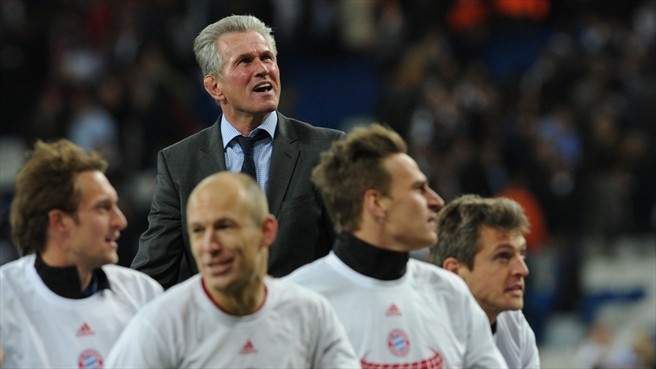 Jupp heynckes the most important thing is that we reached for Raumgestaltung drama