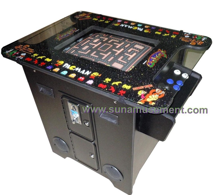 Pac Man/Galaga............had one of these at pizza inn and played it all the time.