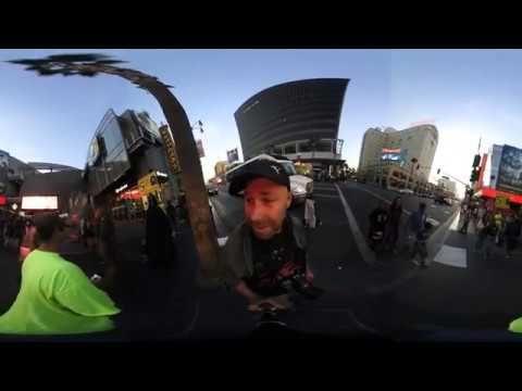 Nikon KeyMission 360 VR Movie - KeyMission Goes Hollywood - Walk of Fame...