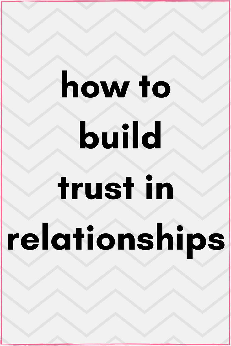 How to build trust online dating