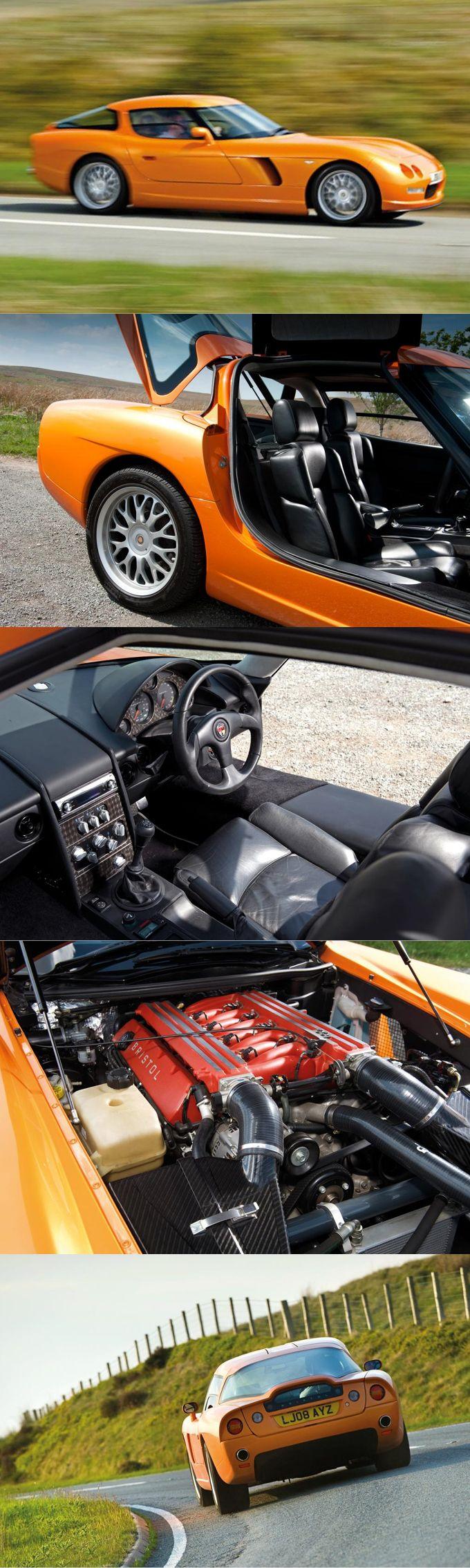 2004 Bristol Fighter / 525hp 8.0l Chrysler V10 / orange / UK