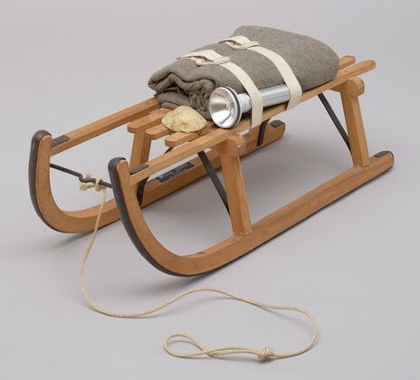 Joseph Beuys' 'The Sled', 1969, part of MoMA collection in New York.