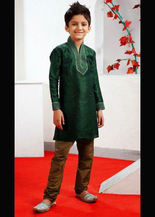 Kurta for boys with churidar, special occasion wear . Shop at - http://www.gravity-fashion.com/15874-kurta-for-boys-with-churidar-special-occasion-wear.html