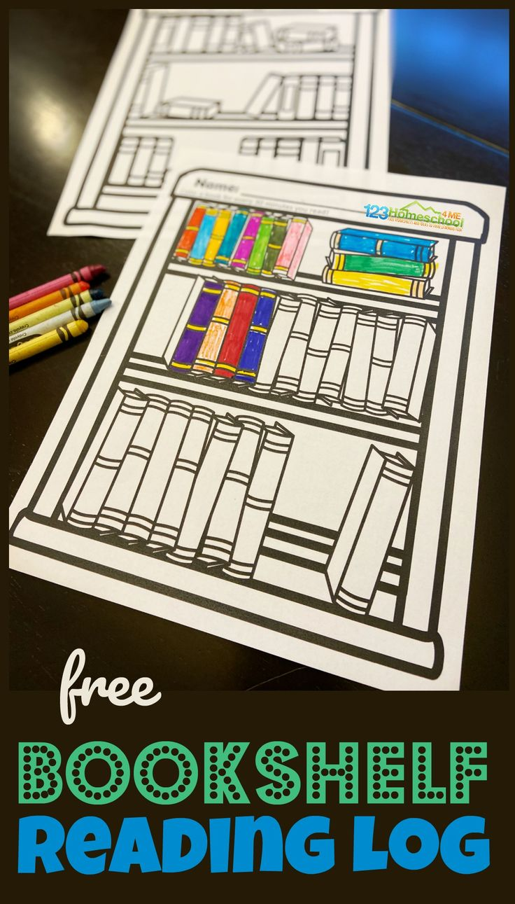 Free bookshelf reading log in 2020 reading logs summer