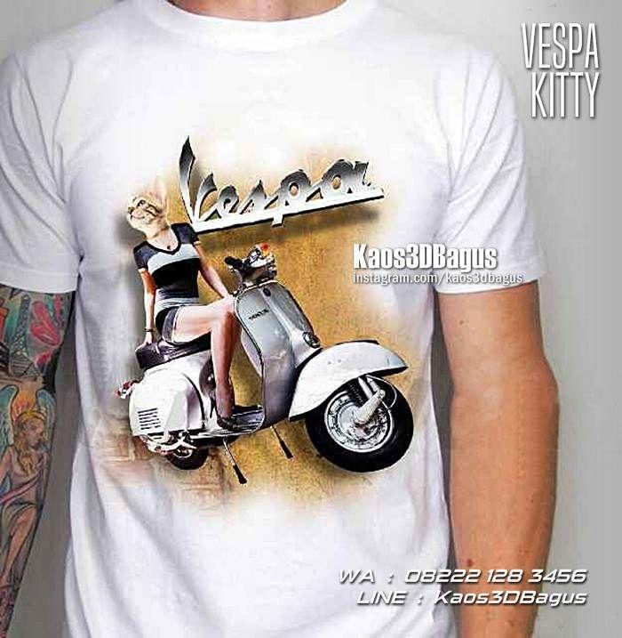 Kaos VESPA, Kaos MOTOR VESPA, Kaos3D, Vespa Club Indonesia, Scooter Boy, Retro Vespa, Vespa Modern, Vespa 946, Custom Vespa, Kaos Klub Motor, Motorcycle, Vespa Mania, Vespa Cewek, Modifikasi Vespa, https://kaos3dbagus.wordpress.com, WA : 08222 128 3456, LINE : Kaos3DBagus