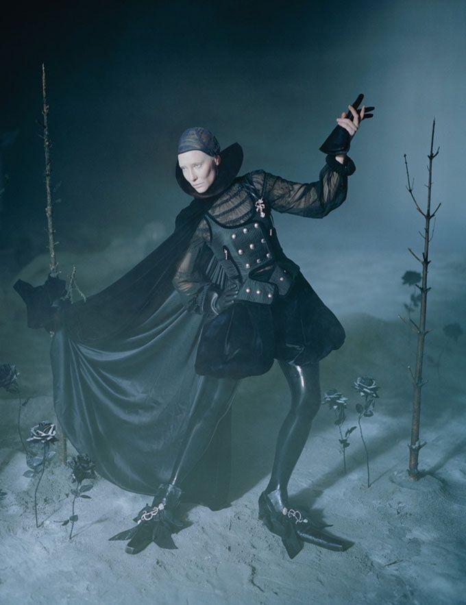 Кейт Бланшетт в W Magazine. Фотограф Тим Уокер .… - Заметки на полях души