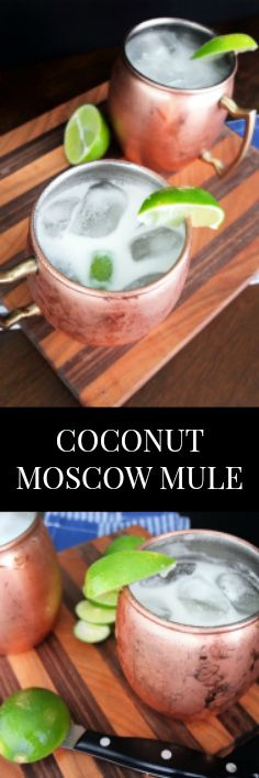 A delicious beach cocktail with a take on a classic Moscow Mule. This sweet and spicy cocktail creates a delicious Thai infusion perfect for sipping pool side. ∕∕ www.ElleTalk.com #happyhour #cocktails
