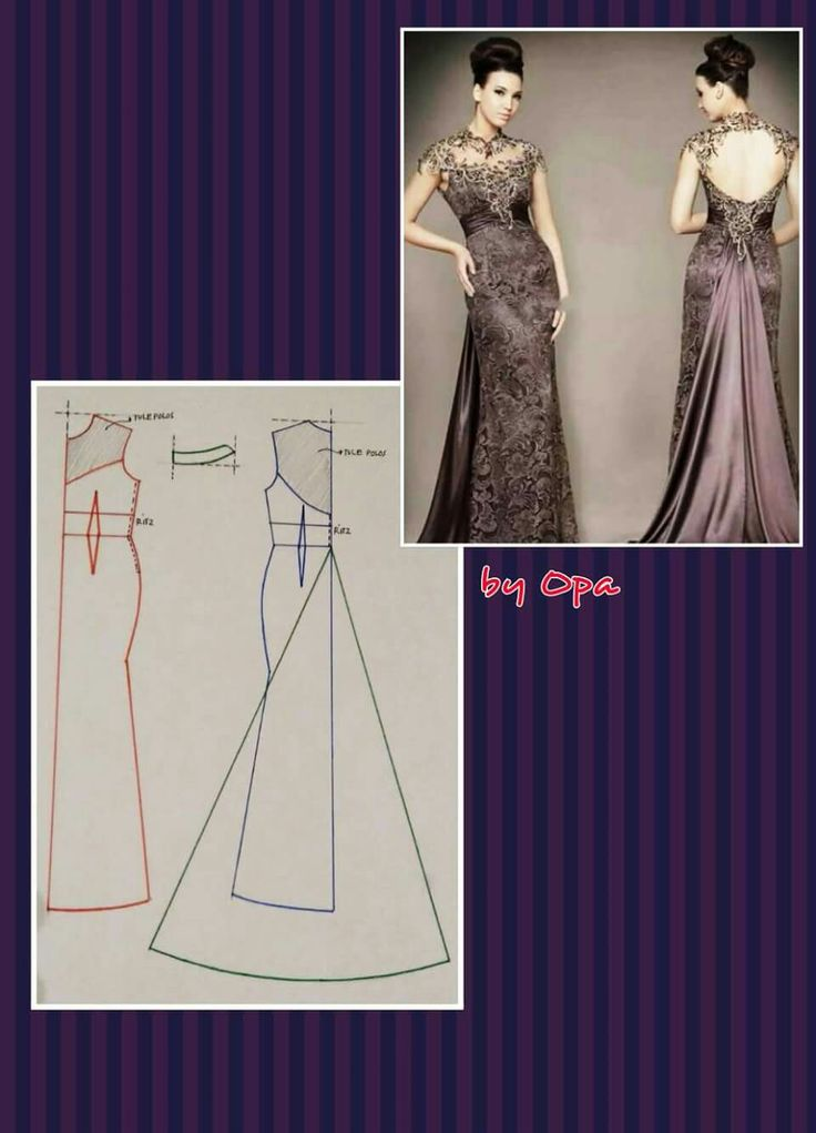Long dress - lace