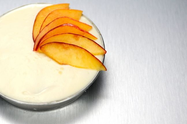 Carlos Gaytan and Carrie Mashaney made us sad to see summer go with their summer tiramisu with nectarines, pistachios, and cheese. Get recipes at Bravotv.com!