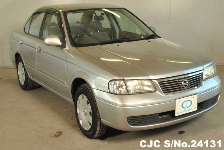2003 Nissan Sunny/Sentra - Stock No. 24131 Chassis: FB15 Grade: 4 - Very Good Condition Type : Sedans, Mileage : 66976 km,  Fuel : Petrol, Transmission : AT, Steering : Right Hand Drive (RHD), Colour Silver, Doors : 4, Seats : 5, Location : Harare #Nissan #Nissansunny #usedcars #cars