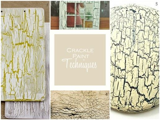 Crackle Paint Techniques