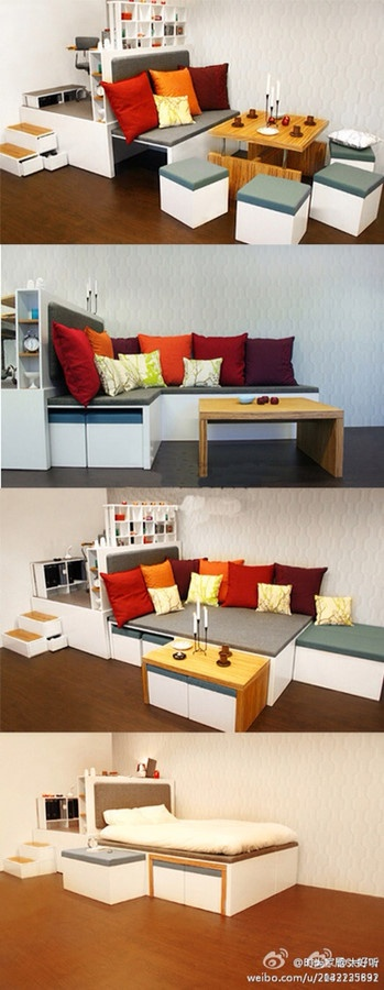 Matroshka,compact living concept