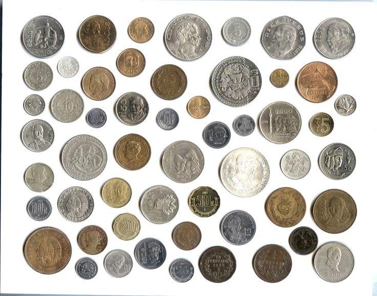 Colecci n de monedas mexicanas 50 piezas enmarcadas for Cama 0 90 x 1 90