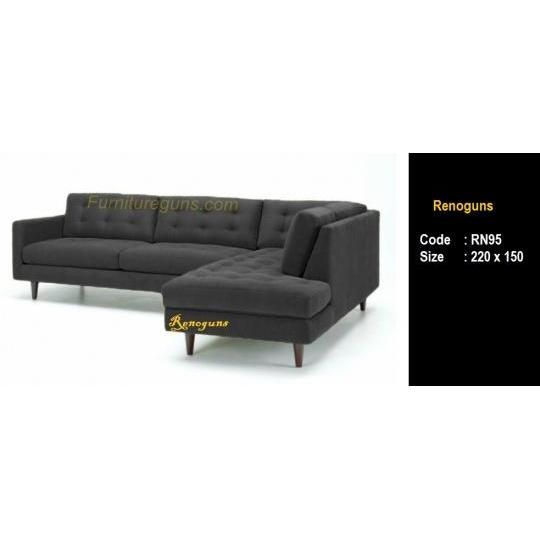 sofa L minimalis modern Rp 3.700.000,- only!!