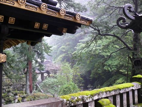 Loved Nikko in Japan.  The place must be haunted, you can almost hear the past here.