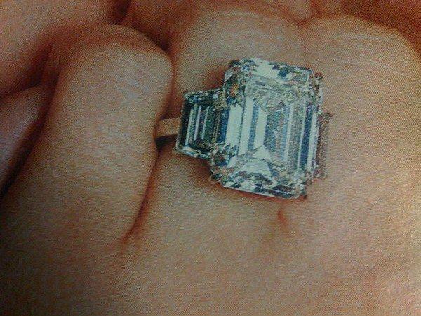 Kim Kardashian Wedding Ring Cost