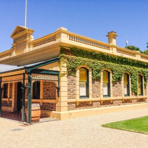 Beautiful wedding venue at Seppeltsfield winery vineyard Barossa Valley Adelaide South Australia