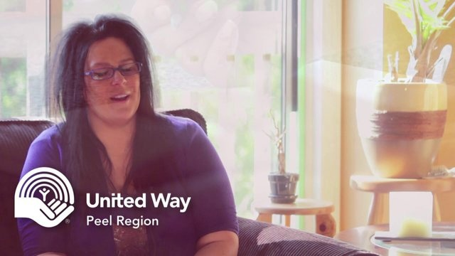 Gina's Story by United Way of Peel Region. I have so many situations or stories, I don't even know which one to give.