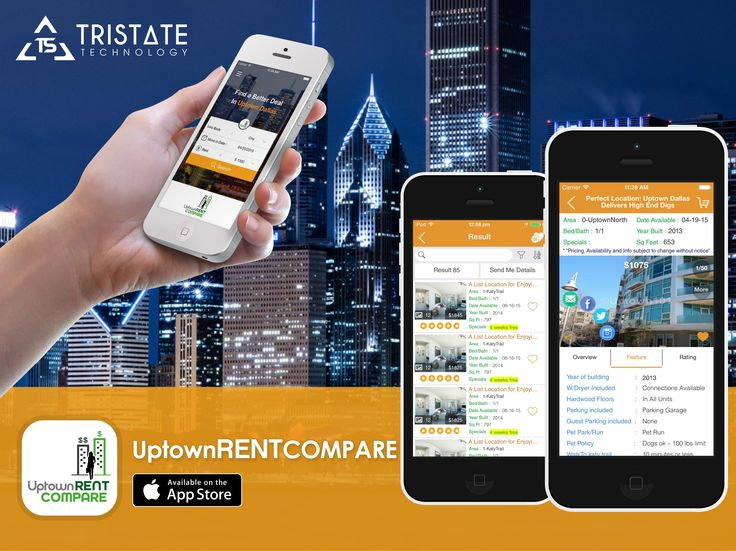 "We Developed web Application ""uptown rent compare """