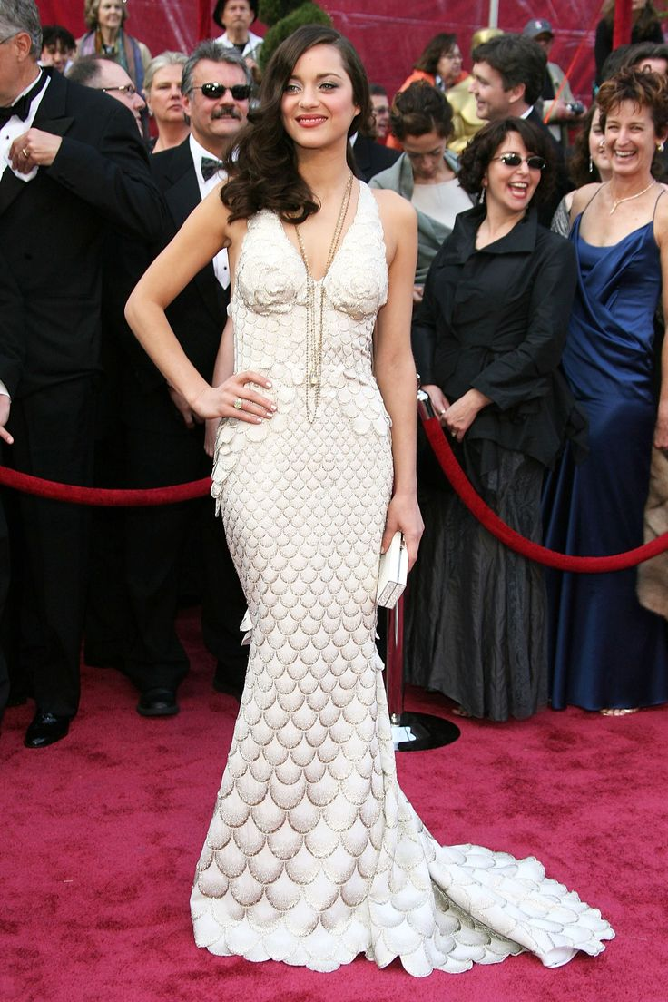 The 100 Best Red Carpet Gowns...Marion Cotillard in Jean Paul Gaultier