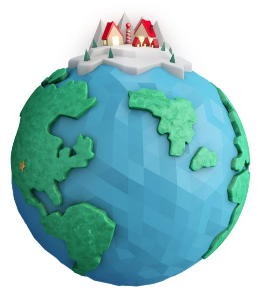 This is a wonderful web site for kids... Official NORAD Santa Tracker.. Track Santa, play games & have fun!!