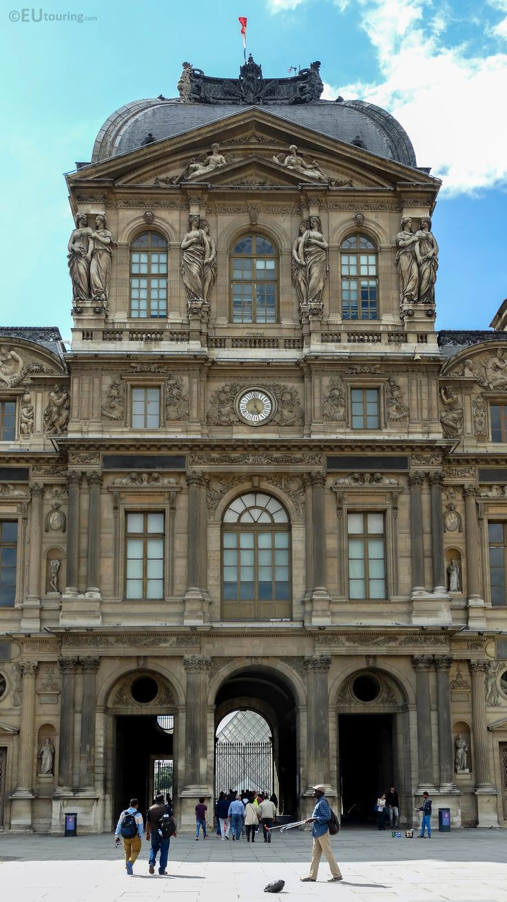 53 best louvre museum images on pinterest museums the - Louvre architekt ...