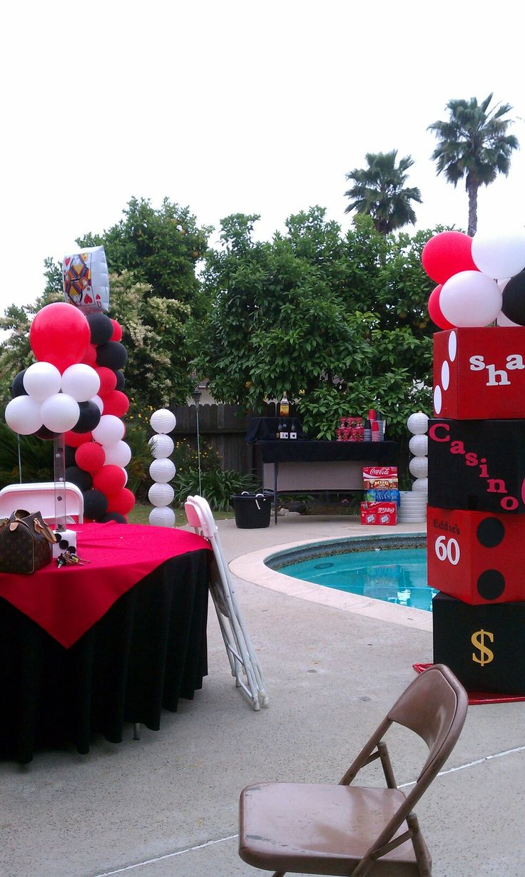 Casino Theme Party Decorations Ideas