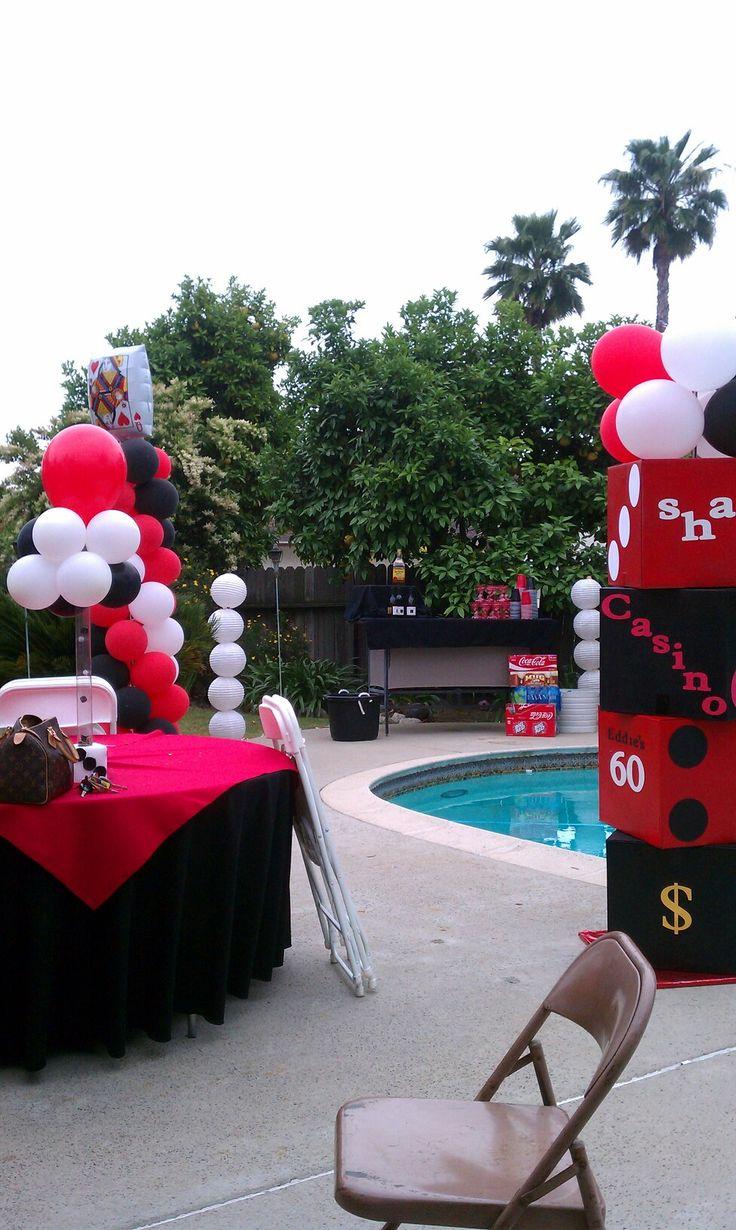 Casino Theme Party Decorations Ideas