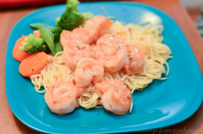Shrimp Scampi - made with Campbell's Skillet Sauces