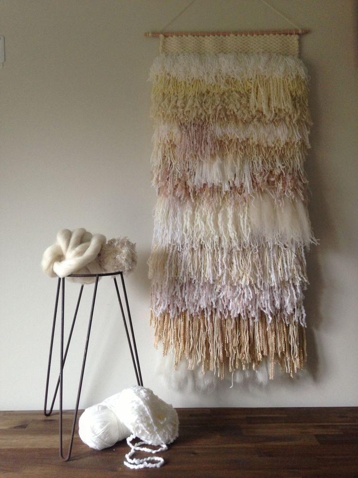 shag wall hanging | Shag weaving by Maryanne Moodie | Tapestry wall hanging