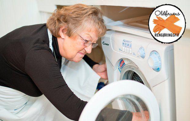 Læs, hvordan du slipper af med lugten i vaskemaskinen. Foto: Jesper Elgård