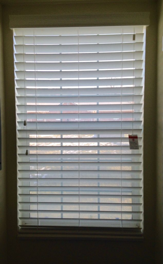 Norman 2 5 Faux Wood Blinds Route Less White Aa Dallas