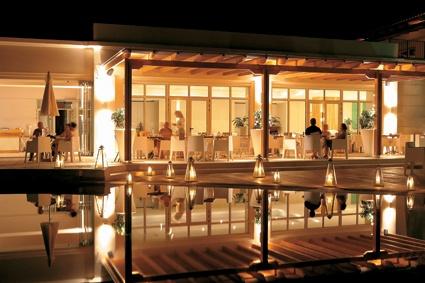 Olive Restaurant, inviting terrace