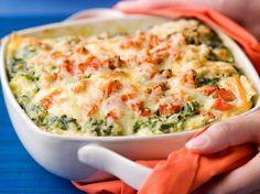 lasagne met vis