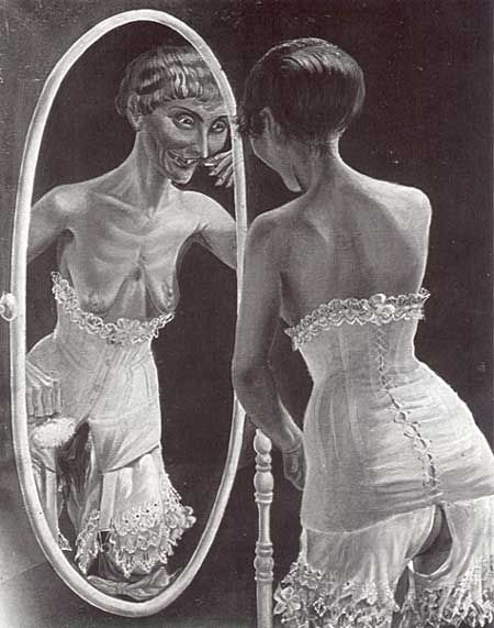 "Otto Dix ""At The Mirror"""
