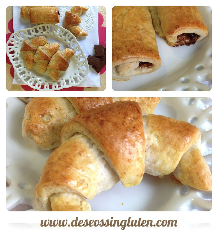 Deseos Sin Gluten: CROISSANTS SIN GLUTEN