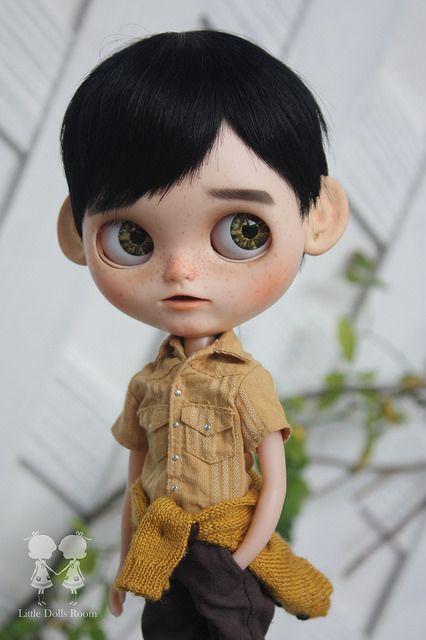 Commission Blythe Boy : Makoto Kun | by little dolls room
