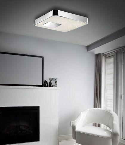 Kourtakis Lighting - Πλαφονιέρα #οροφης από #μεταλλο κ ακρυλικό που δίνει την αίσθηση του #κρυσταλλου. Είναι #LED που σημαίνει ότι κάνει οικονομία στην κατανάλωση ενέργειας και ο φωτισμός είναι σε θερμό λευκό. Δείτε λεπτομέρειες: http://kourtakis-lighting.gr/fotistika-orofis-indoor-fotistika-krebatokamaras-fotistika-saloniou-diakosmisi/3532-led-monterno-fotistiko-orofis-39watt-krystallo-metallo-diamond-mx14009016-1g.html