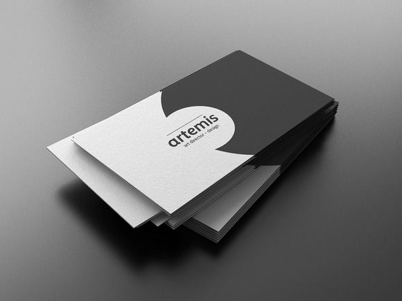 White business card template choice image business cards ideas 12 best business card design images on pinterest business card black white business card by freat reheart Images