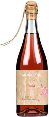 Meinklang Prosa Frizzante Rose (2012).  Had this at Lula Cafe n Lincoln Park & was blown away.