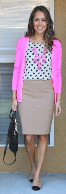 I've always loved this type of skirt and the color