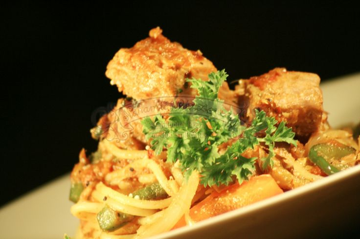 Spaghetti Al Tonno Piccante