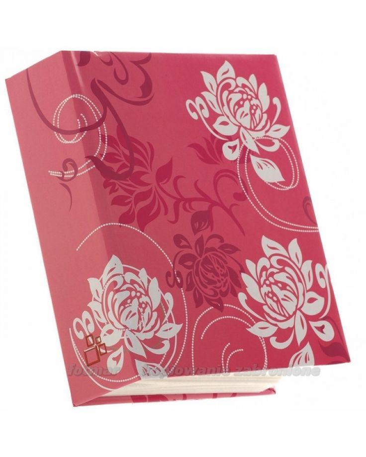 kolorowy album kieszeniowy na 300zdjęć 10x15 Tint czerwony