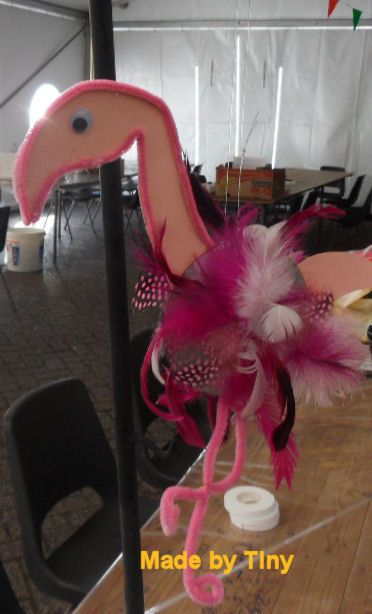 CD Crafts flamingo