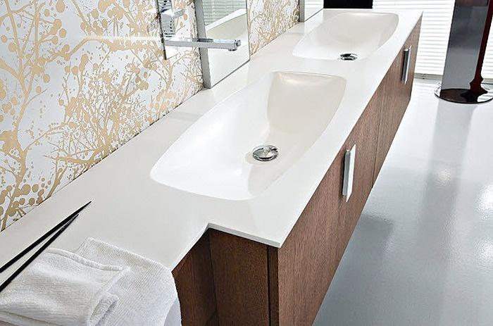 die besten 25 doppelwaschbecken ideen auf pinterest doppel waschtisch doppelwaschbecken. Black Bedroom Furniture Sets. Home Design Ideas