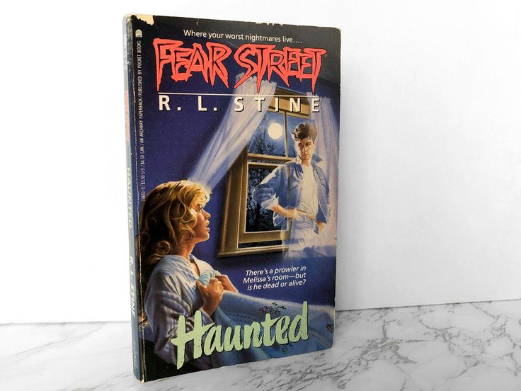 Fear street 7 haunted by rl stine 1990 paperback etsy