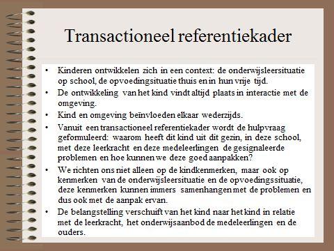 HGW: transactioneel referentiekader