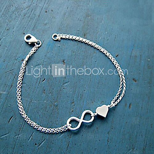Charm Bracelet Infinity Alloy Sister Friendship Bracelet Bridesmaid  Love Bracelet Jewelry Chain Bracelet  Heart Christmas Gifts 2017 - $0.99