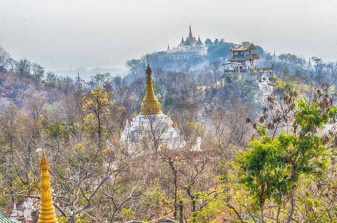 Day Trip to Sagaing Ava and Amarapura from Mandalay Visiting 3 ancient cities Ava, Amarapura and Sagaing is the best way for travelers to learn Myanmar culture, tradition, ways of life in rural area and architectures. Enjoy nature and peace in at some Myanmar's best-known destinations by ferry and horse-cart. Hotel pickup and drop-off service is included.Our driver will pick you up from your hotel lobby in Mandalay around 8:30am and head to the world largest teak bridge, U Be...