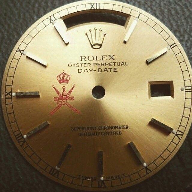 oman rolex dial 18038